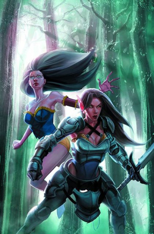 Grimm Fairy Tales #72 (Capprotti Cover)