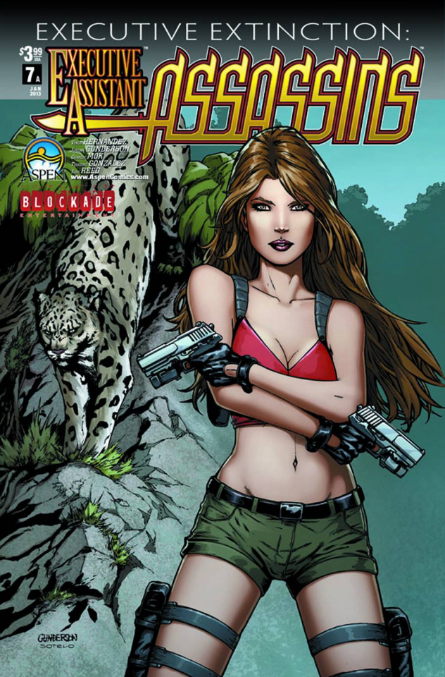 Executive Assistant: Assassins #7 (Gunderson Cover)