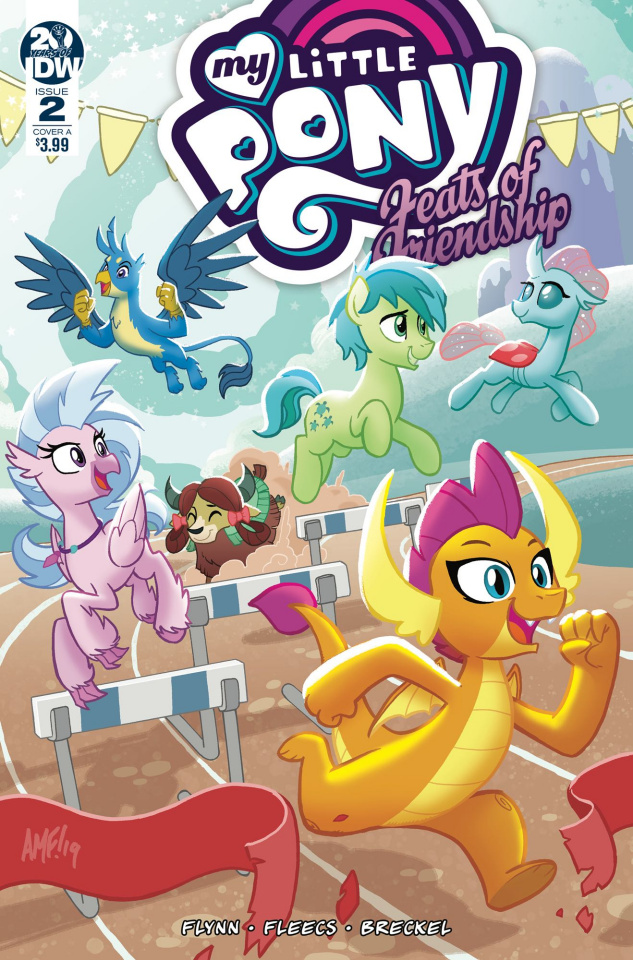 My Little Pony: Feats of Friendship #2 (Fleecs Cover)