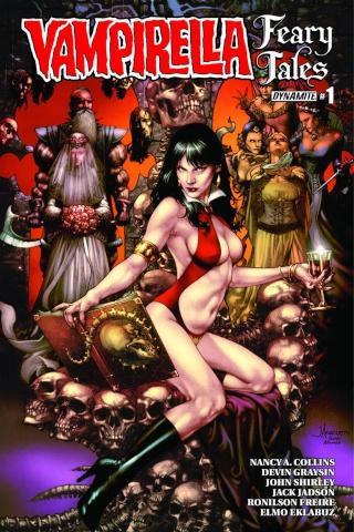 Vampirella: Feary Tales #1 (Anacleto Cover)