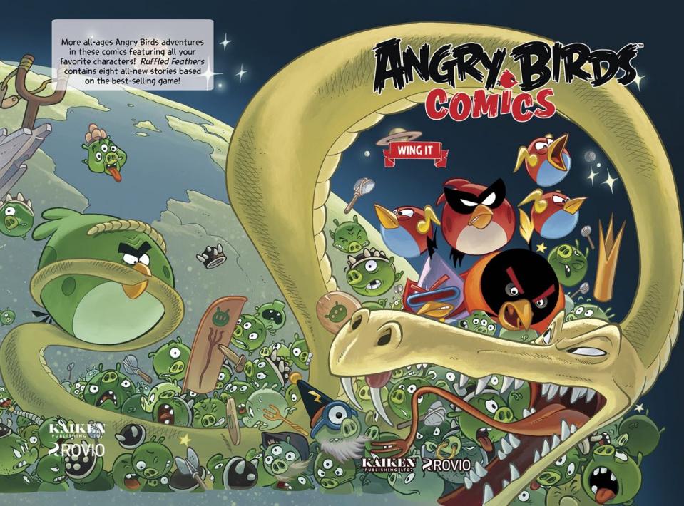 Angry Birds Comics Vol. 6: Wing It