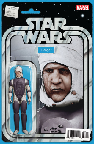 Star Wars #22 (Christopher Action Figure Cover)