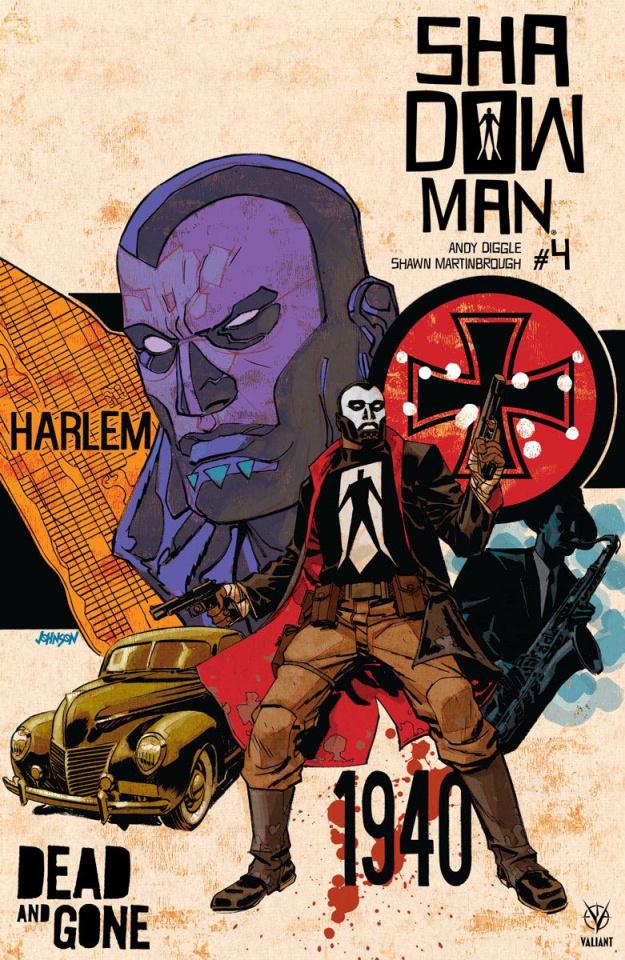 Shadowman #4 (50 Copy Johnson Cover)