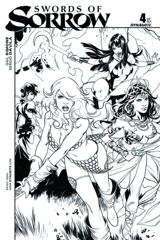 Swords of Sorrow #4 (20 Copy Lupacchino Cover)