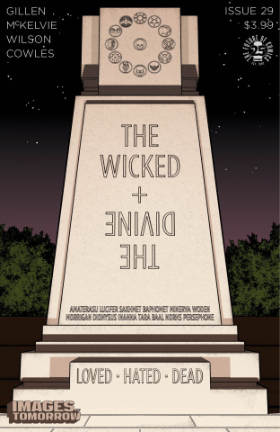The Wicked + The Divine #29 (Images of Tomorrow Cover)