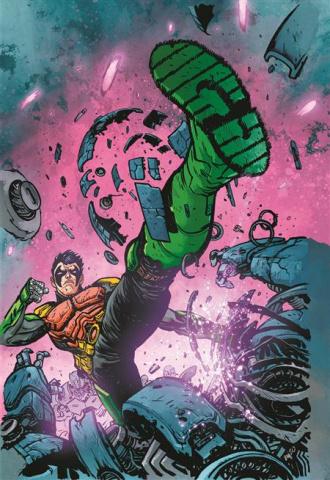 Future State: Robin Eternal #2 (Daniel Warren Johnson Card Stock Cover)