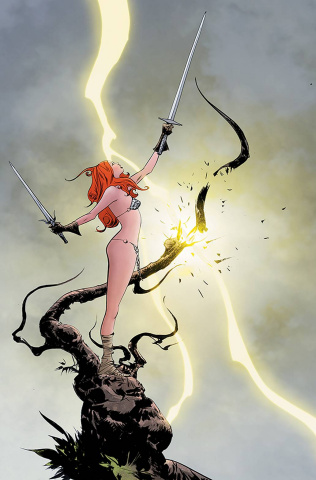 Red Sonja #28 (Lee Virgin Cover)