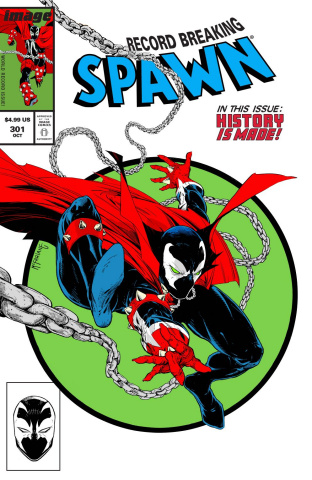 Spawn #301 (Parody McFarlane Cover)