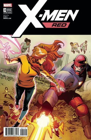 X-Men: Red #3 (Asrar 2nd Printing)
