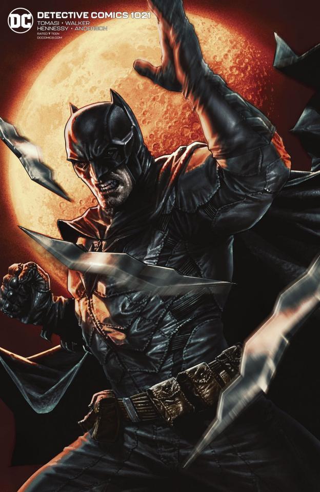 Detective Comics #1021 (Card Stock Lee Bermejo Cover)