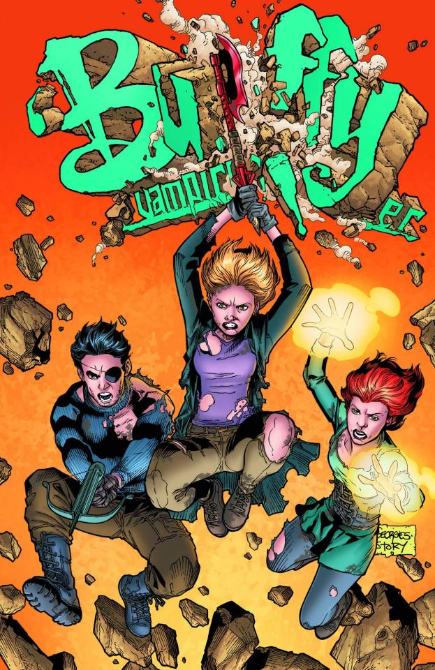 Buffy the Vampire Slayer, Season 9: Freefall #25 (Jeanty Cover)