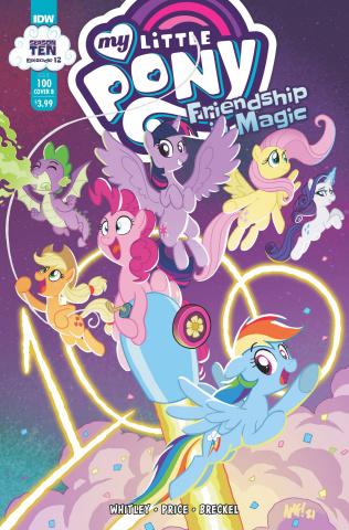 My Little Pony: Friendship Is Magic #100 (Fleecs Cover)