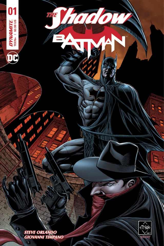 The Shadow / Batman #1 (Van Sciver Signed Cover)