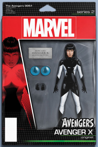 Avengers #5.1 (Christopher Action Figure Cover)