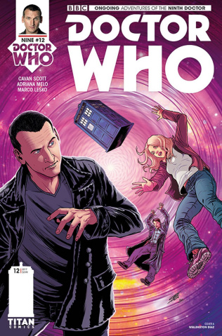 Doctor Who: New Adventures with the Ninth Doctor #12 (Bolson Cover)