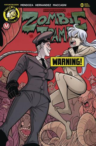 Zombie Tramp #63 (Maccagni Risque Cover)