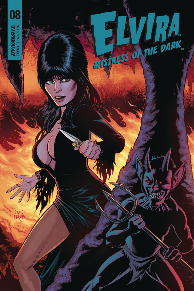 Elvira: Mistress of the Dark #8 (Cermak Cover)