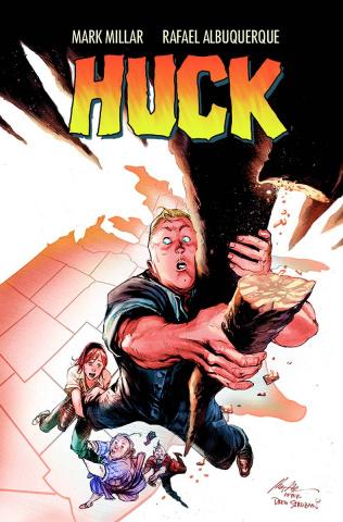 Huck #2 (Albuquerque Cover)