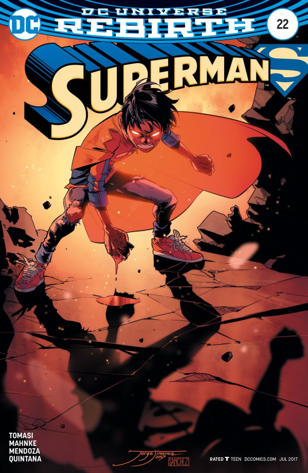 Superman #22 (Variant Cover)