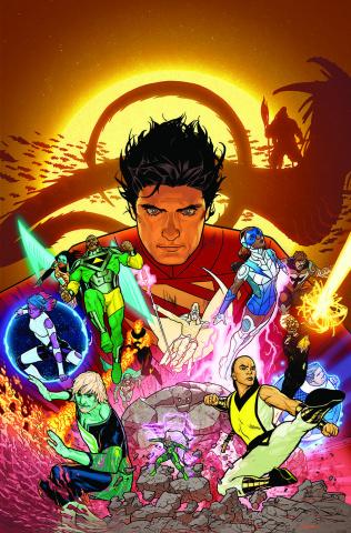 The Legion of Super Heroes #12 (Ryan Sook Cover)