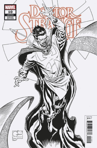 Doctor Strange #10 (Quesada B&W Cover)