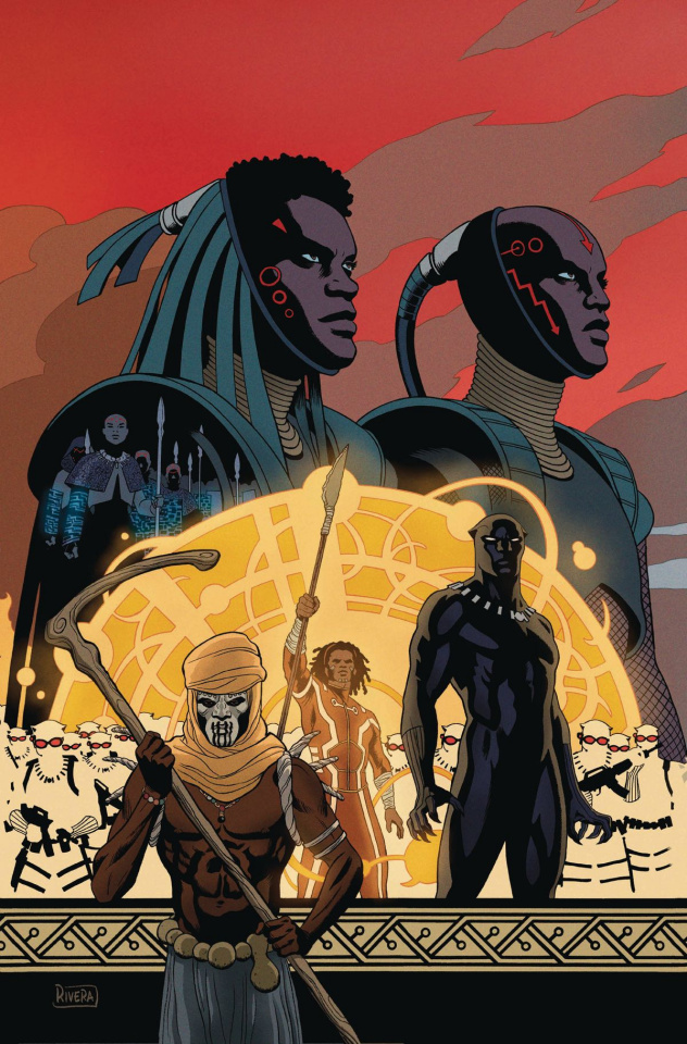 Black Panther #10 (Rivera Connecting Cover)