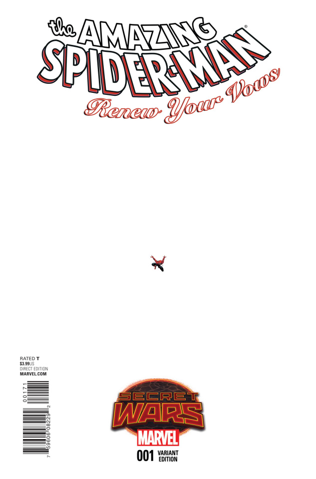 The Amazing Spider-Man: Renew Your Vows #1 (Ant-Sized Cover)