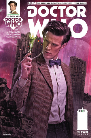 Doctor Who: New Adventures with the Eleventh Doctor, Year Three #3 (Photo Cover)