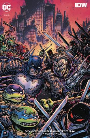 Batman / Teenage Mutant Ninja Turtles III #4 (Variant Cover)
