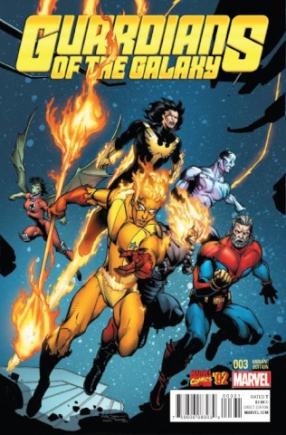 Guardians of the Galaxy #3 (Marvel '92 Cover)
