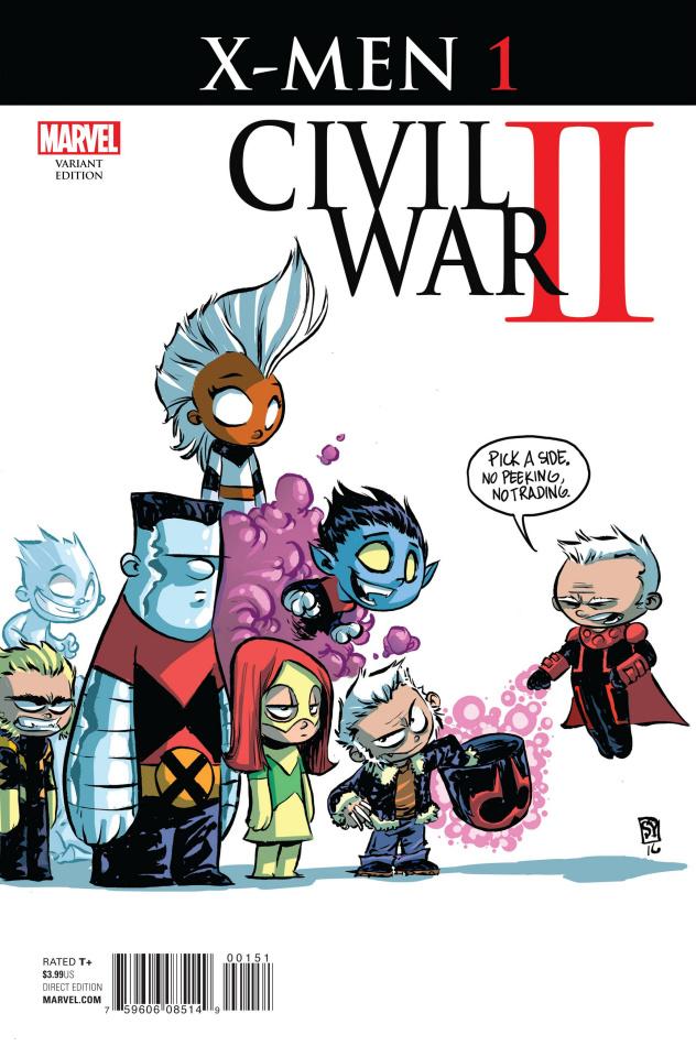 Civil War II: X-Men #1 (Young Cover)