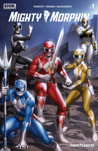 Mighty Morphin' #1 (Yoon Connecting Cover)