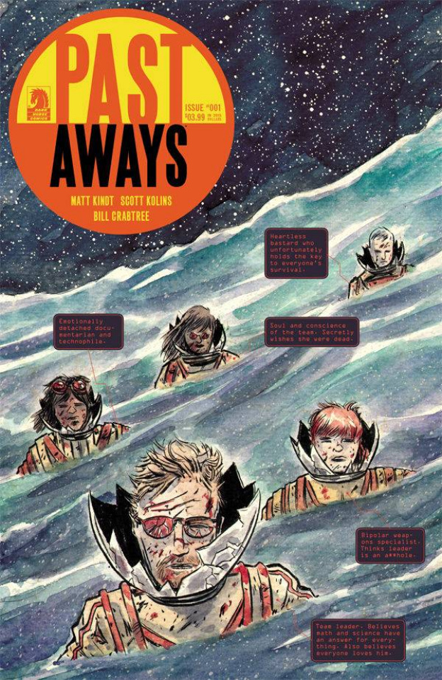 Past Aways #1 (Kindt Cover)