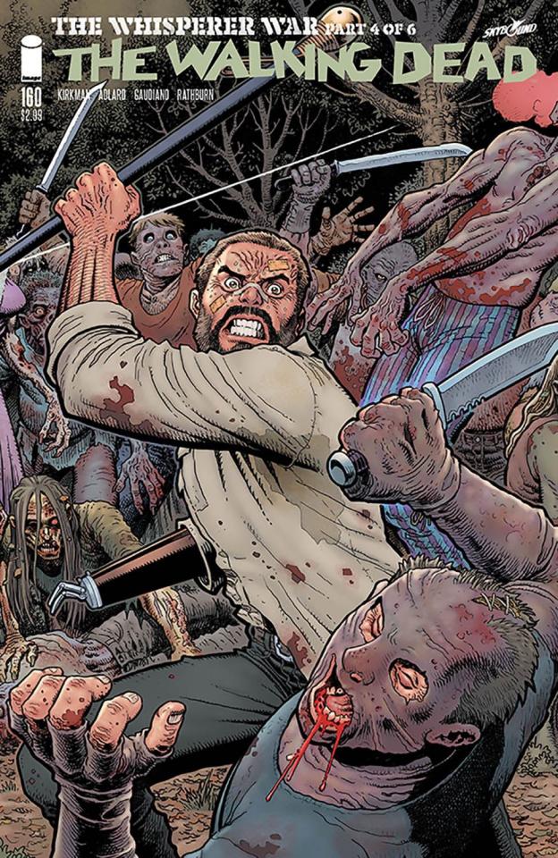 The Walking Dead #160 (Adams & Fairbairn Cover)