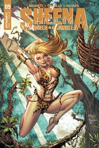Sheena #10 (Royle Cover)