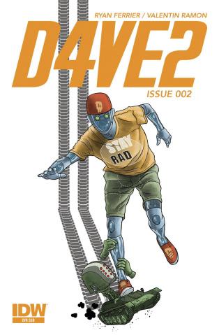 D4VE2 #2 (Subscription Cover)