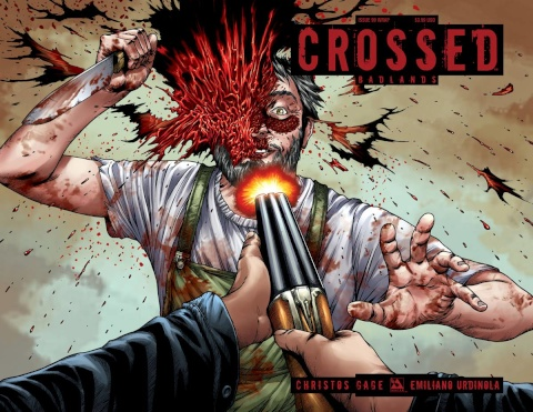 Crossed: Badlands #99 (Wrap Cover)