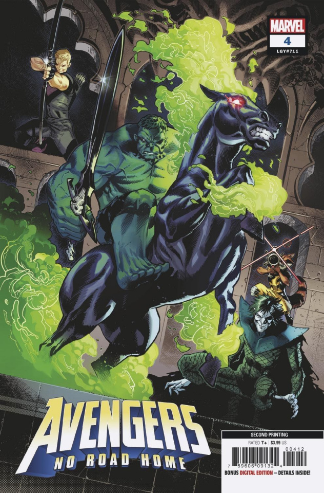 Avengers: No Road Home #4 (Izaakse 2nd Printing)