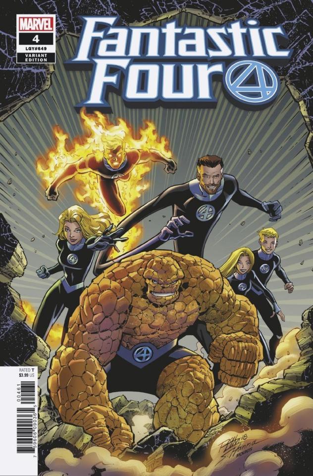 Fantastic Four #4 (Lim Reunited Cover)