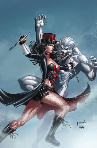 Van Helsing vs. The Werewolf #6 (Metcalf Cover)