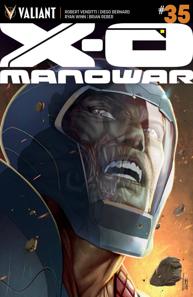 X-O Manowar #35 (10 Copy Sandoval Cover)