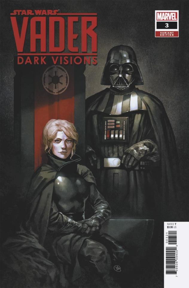 Star Wars: Vader - Dark Visions #3 (Putri Cover)