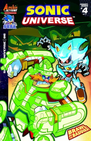 Sonic Universe #86 (Yardley Cover)