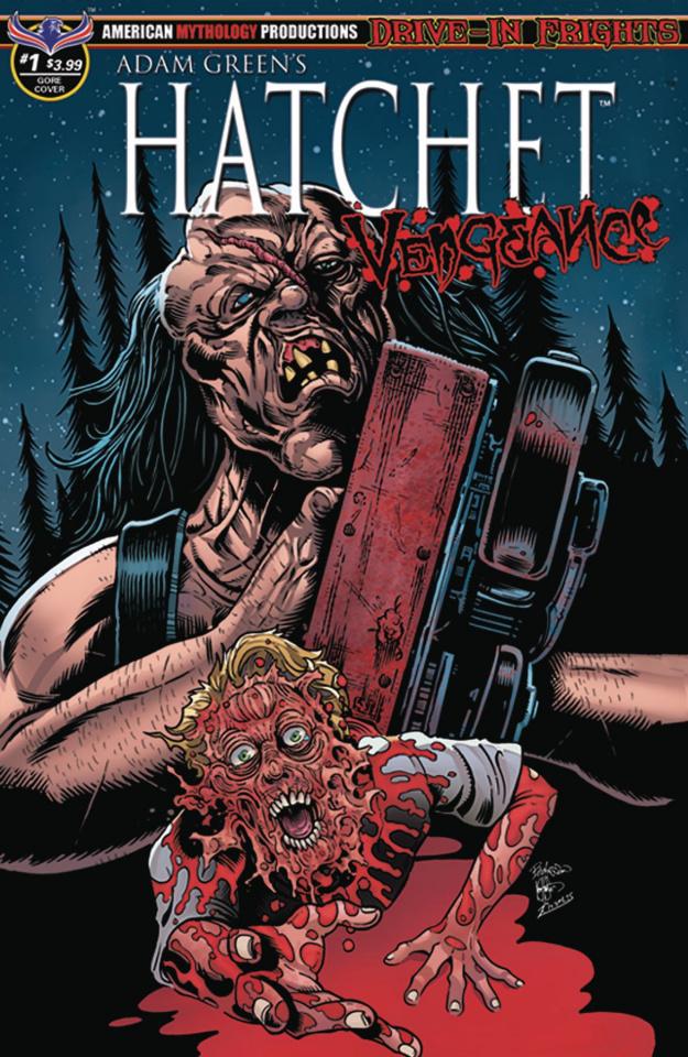 Hatchet: Vengeance #1 (Hasson Blood & Gore Cover)
