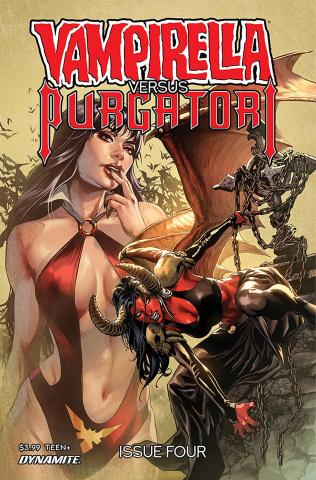 Vampirella vs. Purgatori #4 (Pagulayan Cover)
