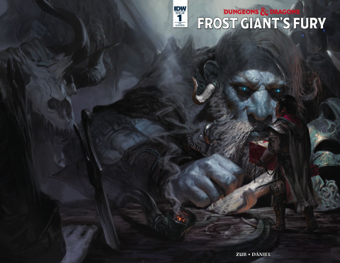 Dungeons & Dragons: Frost Giant's Fury #1 (10 Copy Cover)