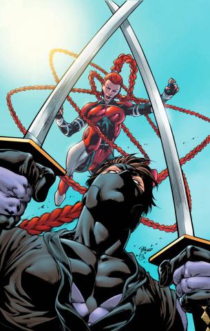Ninjak #15 (Bernard Cover)