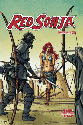 Red Sonja #11 (Colak Cover)