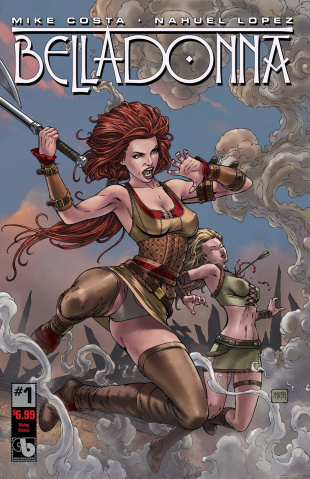Belladonna #1 (Viking Vixens Cover)