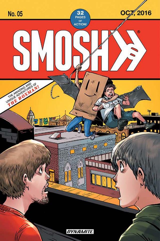 SMOSH #5 (Viglino Cover)